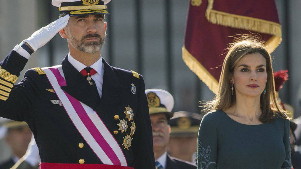 König Felipe VI. und Königin Letizia erhalten mehr Geld aus der Staatskasse. (Archivbild)