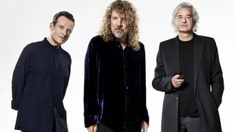 Led Zeppelin werden geehrt: John Paul Jones, Robert Plant and Jimmy Page (v.l.n.r.)