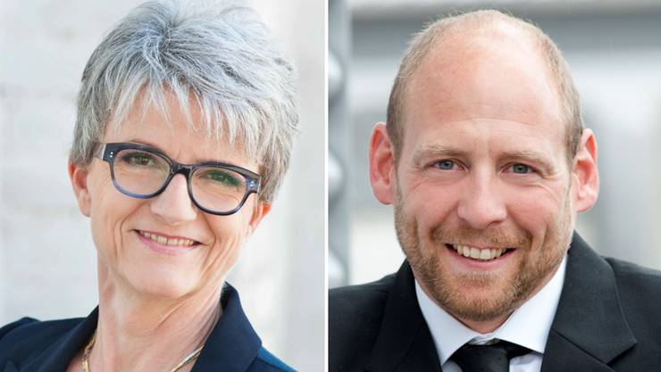 Maya Bally und Michael Notter sehen ihre politische Zukunft bei der CVP.