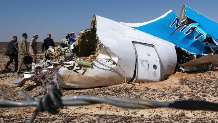 Laut den USA und Grossbritannien deutet vieles darauf hin, dass eine Bombe den russischen Flieger in Ägypten zum Absturz brachte.