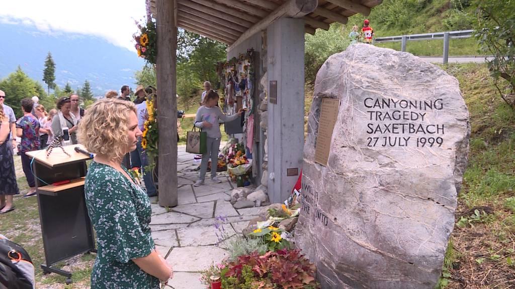 20 Jahre Saxetbach-Tragödie: Überlebende kehren an Unglücksort zurück