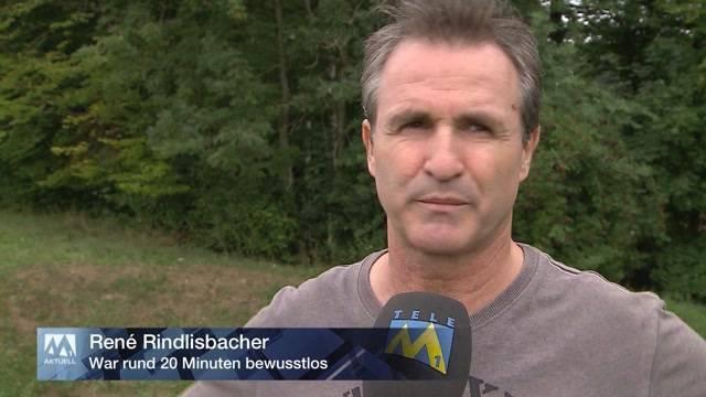 Komiker Rindlisbacher wegen Anfall  verunfallt