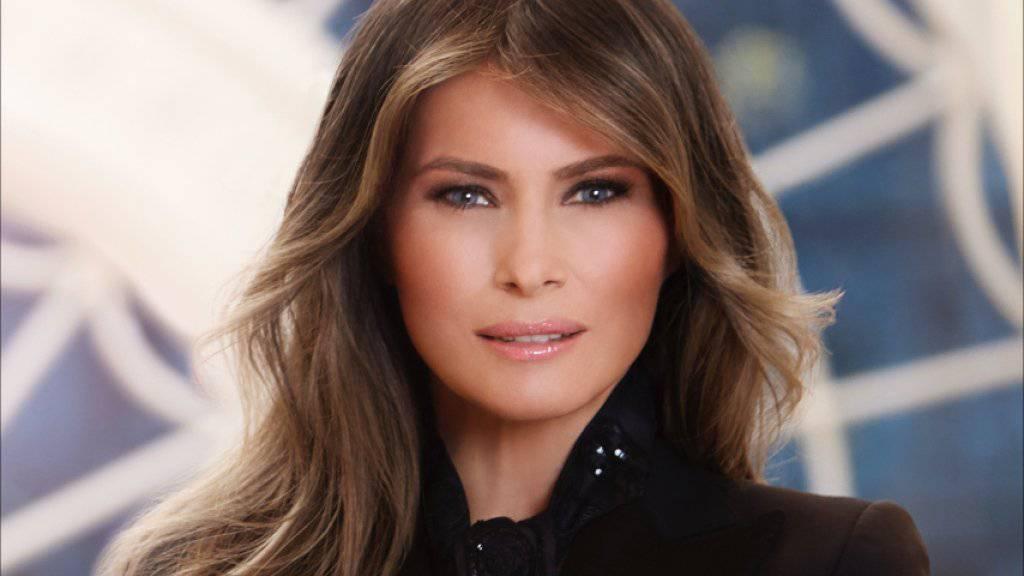 Erstes offizielles Foto der First Lady Melania Trump, das vom Weissen Haus herausgegeben wurde.