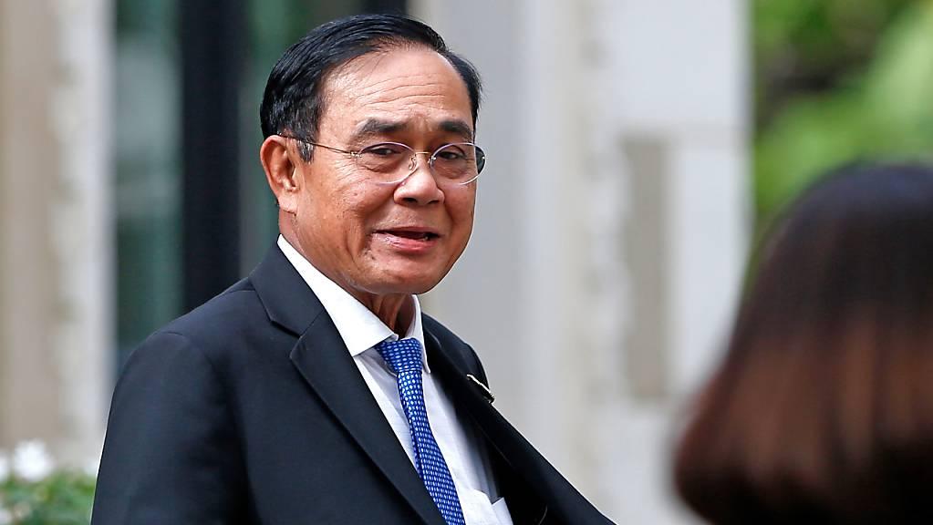 ARCHIV - Thailands Ministerpräsident Prayuth Chan-O-Cha im Regierungsgebäude in Bangkok im Dezember letzten Jahres. Foto: Chaiwat Subprasom/SOPA Images via ZUMA Wire/dpa
