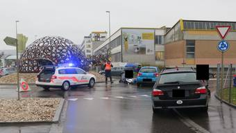 Unfall in Therwil.