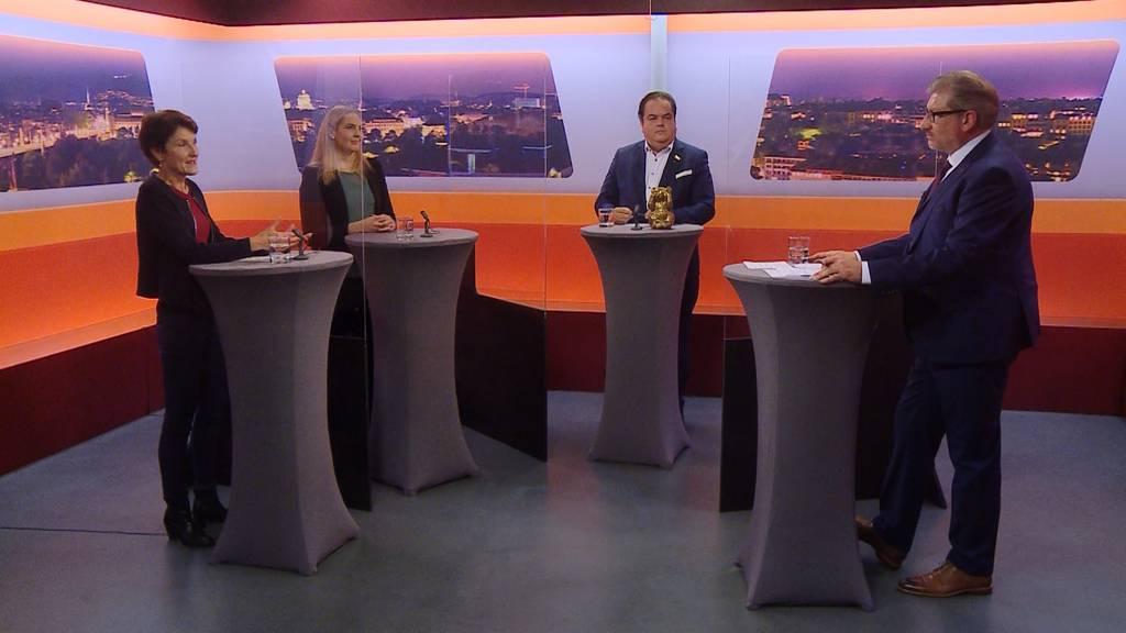Wahlkampf-Talk «Bäregrabe»: Teuscher, Liebi, Fuchs (Teil 1)