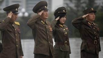 Zur Ausbildung in der Schweiz: Nordkoreanische Offiziere (Symbolbild)