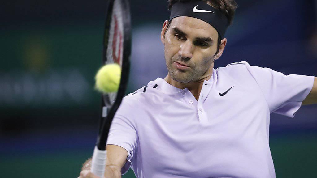Roger Federer hatte auch gegen Gasquet alles im Griff