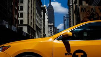Ein New Yorker Taxi ist zu einem Kunstobjekt geworden. (Symbolbild)