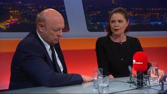Ueli und Roberta Giezendanner in der Sendung «TalkTäglich», 19.6.2017.
