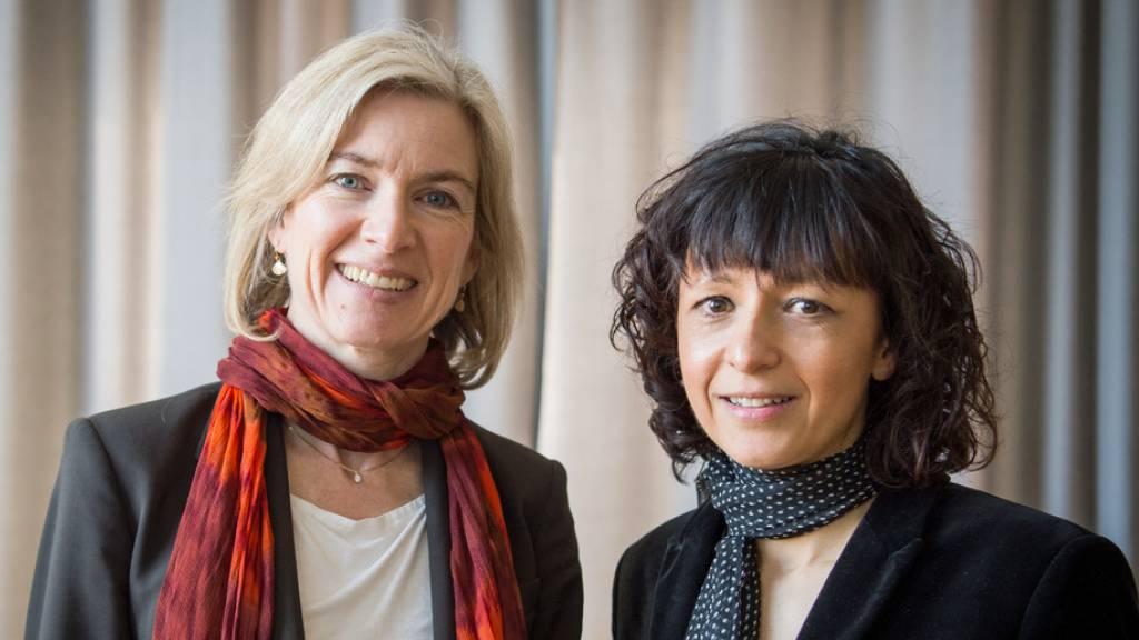 Das Nobelpreis-Duo fand den Schlüssel zum Code des Lebens