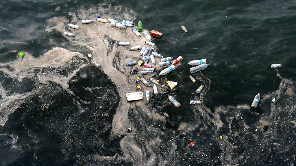 Plastikmüll im Mittelmeer: 500 Frachtcontainer pro Tag