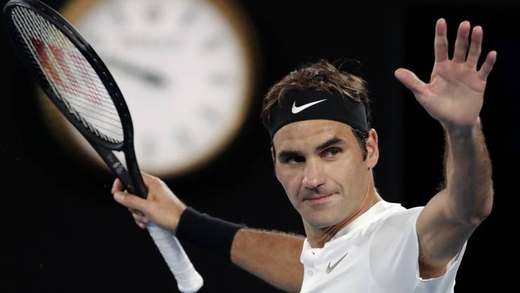 Schafft Roger Federer den Sprung an die Spitze der Weltrangliste?