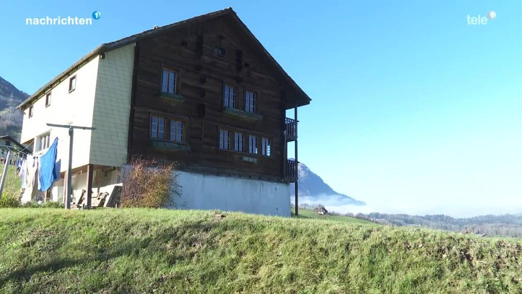 In Lauerz rumort es wegen einem Holzhaus