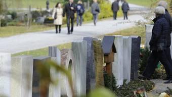 Der Ost-Friedhof in St. Gallen (Archiv)