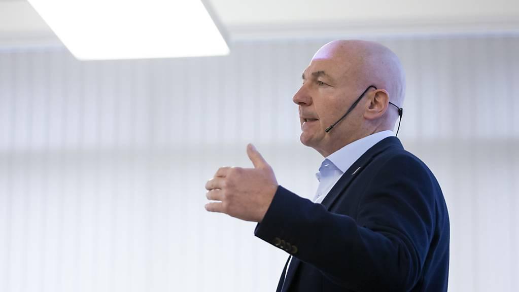 Ligadirektor Denis Vaucher gab in Ittigen bekannt, dass es in dieser Saison keinen Schweizer Meister gibt