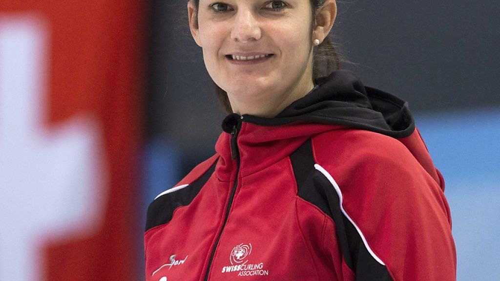 Skip Binia Feltscher darf nach dem WM-Start zufrieden sein