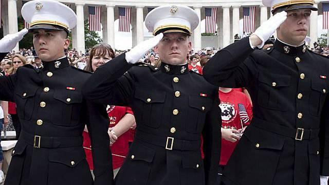 In der US-Armee gibt es keine Homosexuellen - offiziell (Symbolbild)