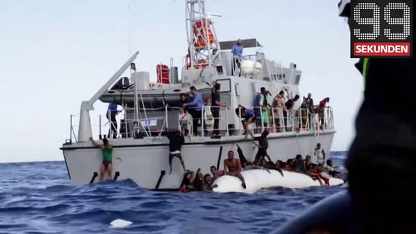 Libysche Küstenwache verhindert Rettung - Fauler Hundehalter