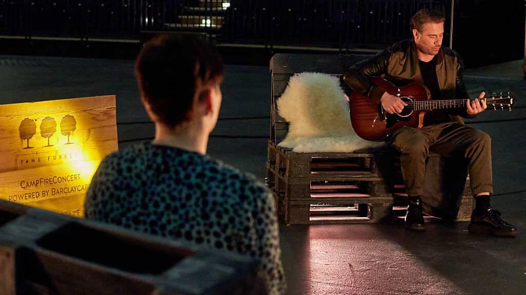 Sasha singt in leerer Hamburger Arena für einen einzigen Fan
