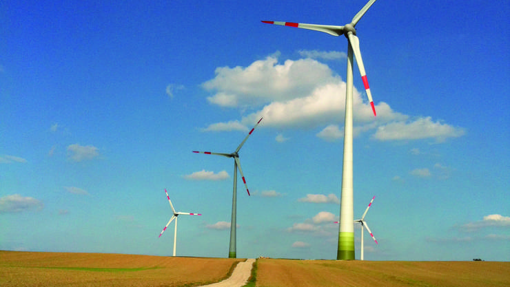 Aventron Selmsdorf Windanlage