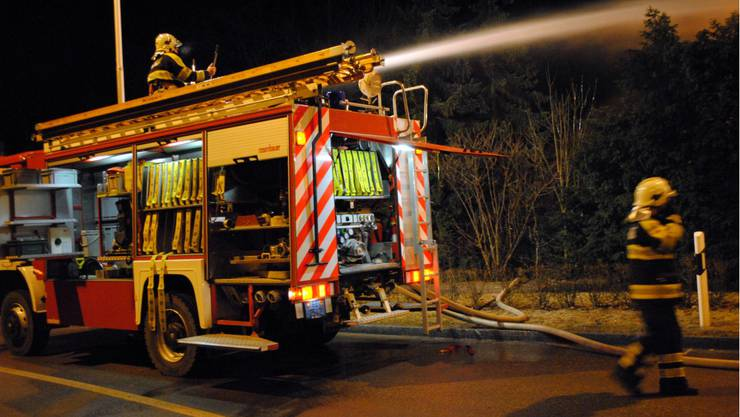 Grossbrand in Pieterlen
