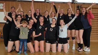 Mit einem komfortablen 3:0 Heimsieg sind die Volleyballerinnen vom TV Grenchen in den 1. Liga Play Off's eine Runde weiter