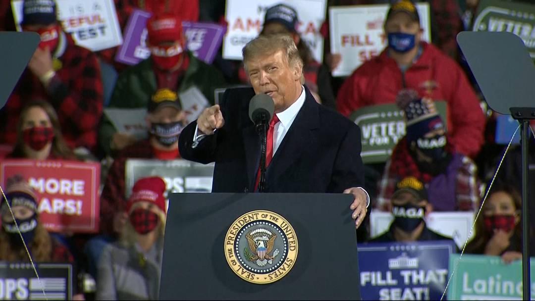 USA: Trump krönt sich als Sieger der ersten TV-Debatte