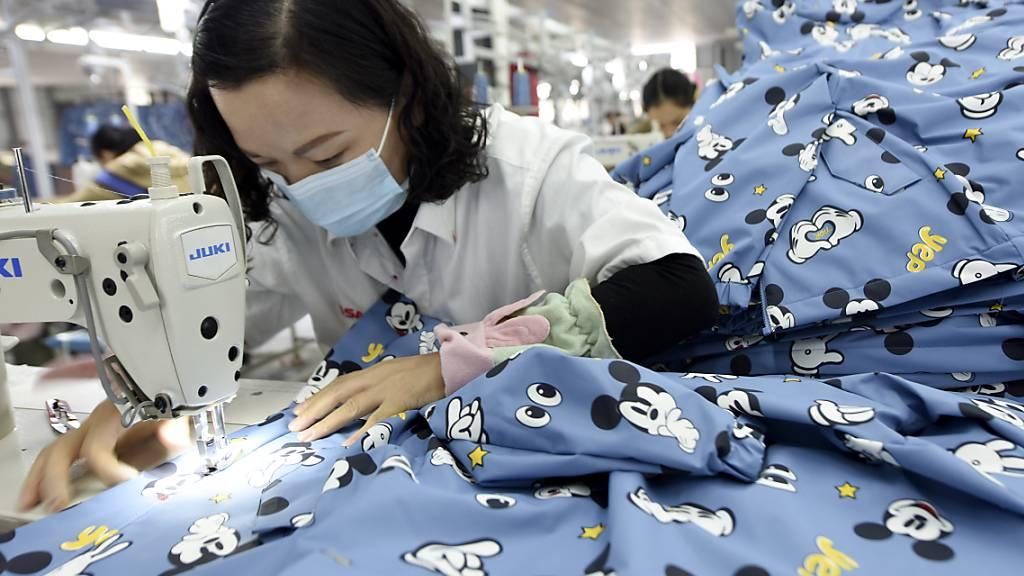 Chinas Aussenhandel legt im Dezember erneut deutlich zu