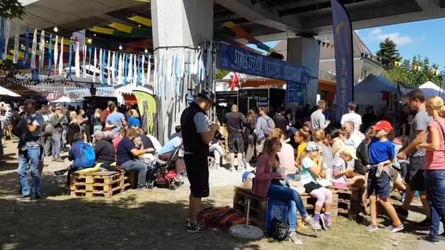Das Streetfood Festival Solothurn 2018 lockte Tausende an