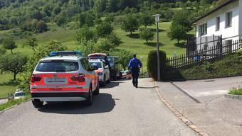 Die Polizei suchte rund drei Stunden nach dem Flüchtigen.