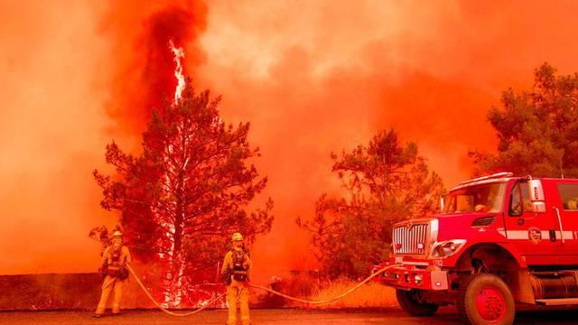 Flammeninferno in Kalifornien