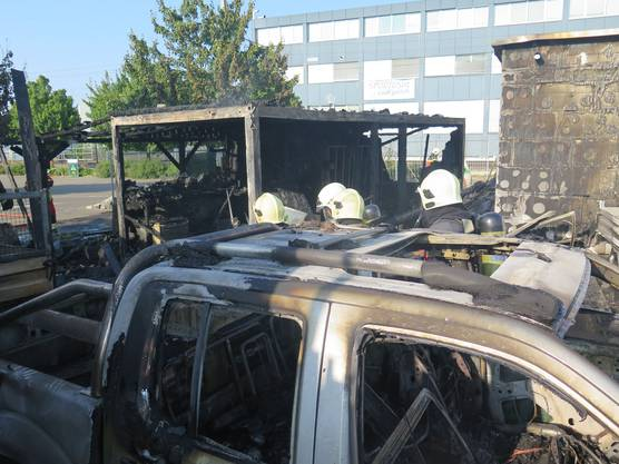 Brand in Therwil