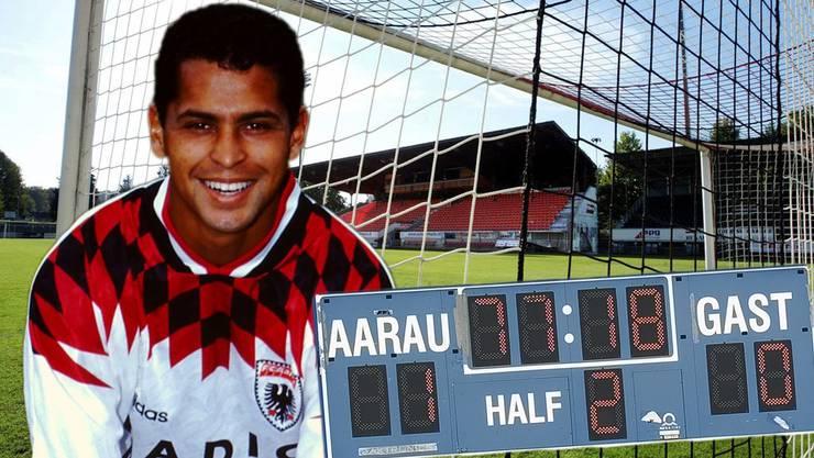 Everson Rodrigues, genannt Ratinho: Keinen Spieler im Aarau-Dress hat Hauswirth je so vergöttert wie die Zaubermaus.