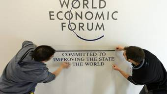 Das WEF findet vom 23. bis 27. Januar in Davos statt.