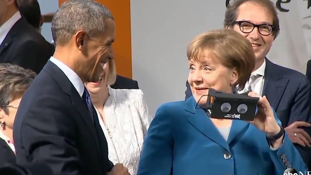 16 Jahre Angela Merkel: Witzige Momente aus der Amtszeit der Bundeskanzlerin