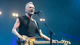 Unverwüstlich: Sting ist auch mit 67 Jahren voller Tatendrang.