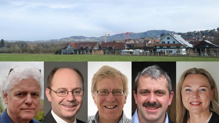 In Aesch stellen sich alle fünf bisherigen Gemeinderatsmitglieder für eine weitere Amtsperiode zur Verfügung. Das sind die Kandidaten.