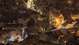 Muttenz: Adventszeit, wenn es schneit