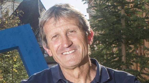 Projektleiter Geri Kaufmann