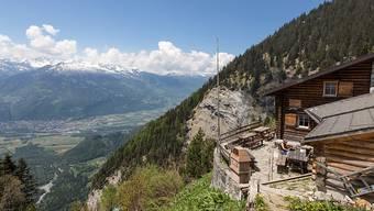 Im vergangenen Jahr sind in den 150 Hütten des Schweizer Alpen-Clubs mit 304'000 Reservationen etwas mehr Übernachtungen als im Vorjahr gebucht worden. Der schöne Sommer und Herbst konnten den schlechten Winter auffangen. (Archivbild)
