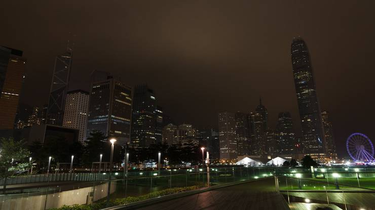 Earth Hour in Hong Kong