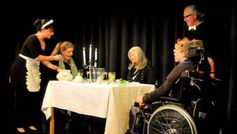 Die Solodaris Stiftung gastierte mit dem Stück «Die grosse Suche nach dem kleinen Etwas» im Schwager Theater in Olten