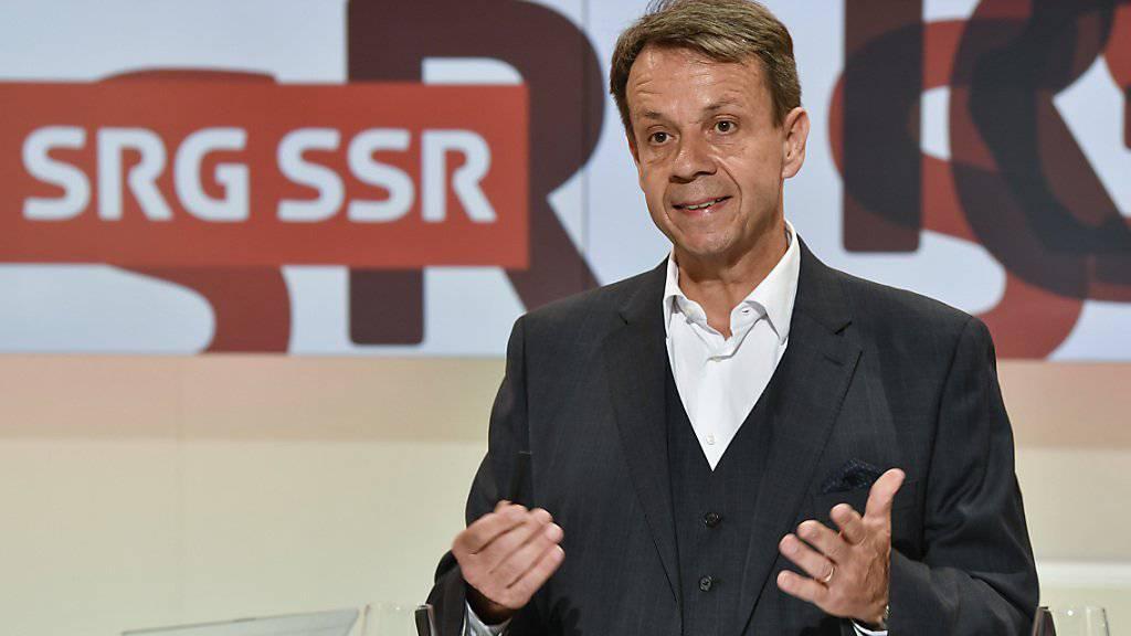 SRG-Direktor Marchand offen für neue Varianten beim Service public