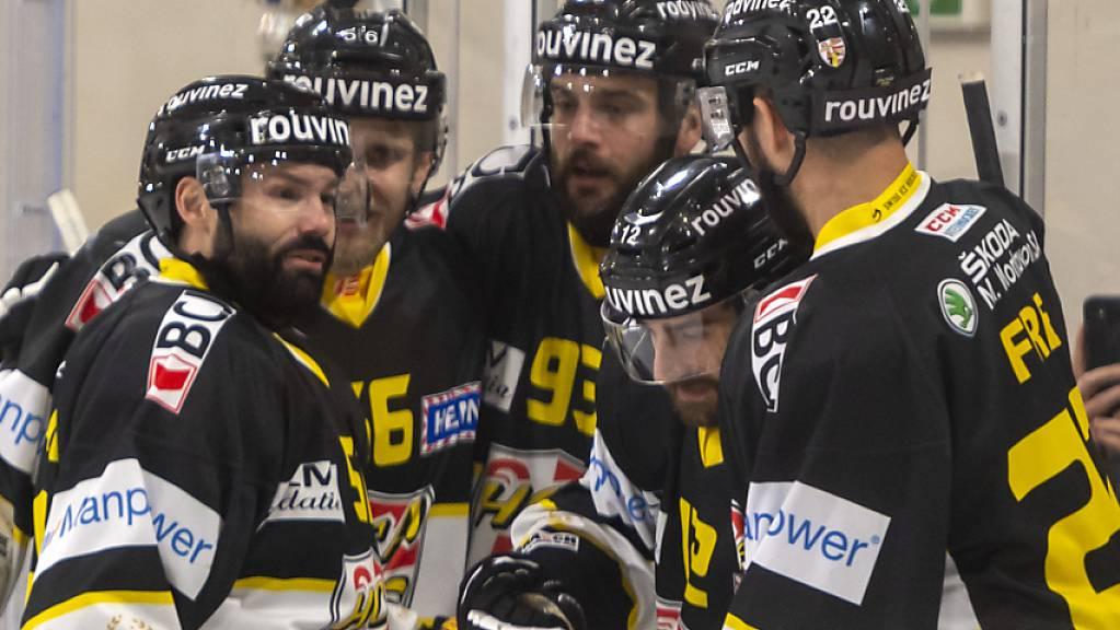 Der HC Ajoie bejubelt den zweiten Meistertitel in der Swiss League in fünf Jahren