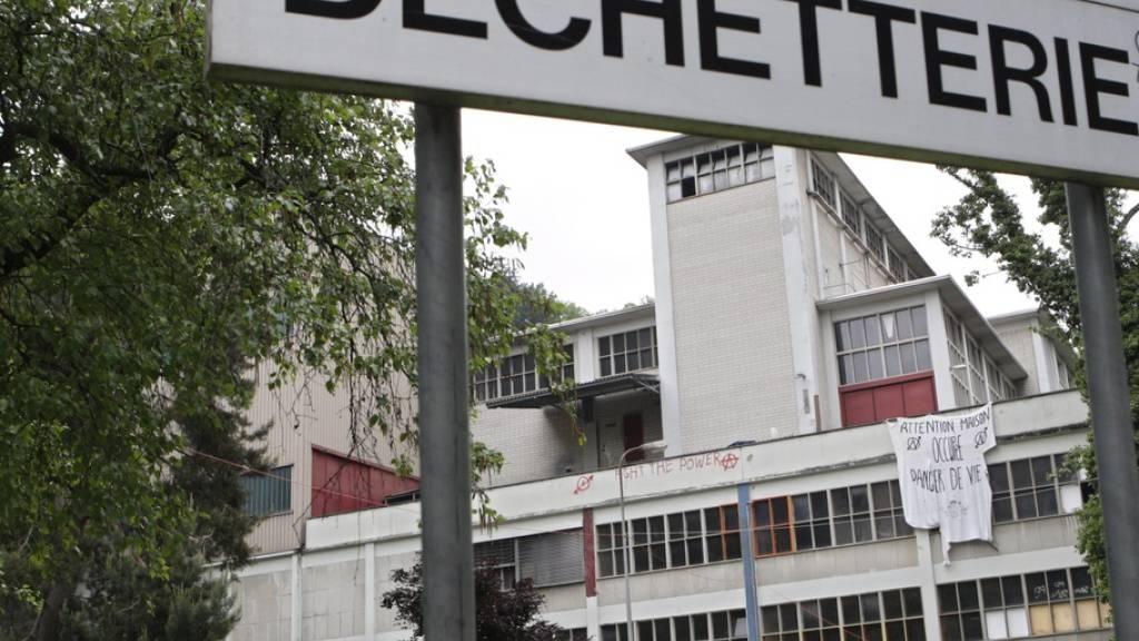 Die ehemalige Kehrichtverbrennungsanlage Vallon in Lausanne ist wahrscheinlich die Ursache der Bodenverschmutzung. (Archivbild)