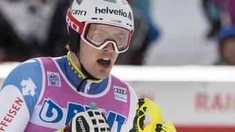 Daniel Yule freut sich nach seinem starken zweiten Lauf