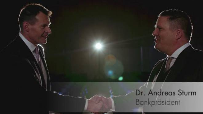 Die BKB feiert das Geschäftsergebnis auch mit einem PR-Video. Foto: Screenshot
