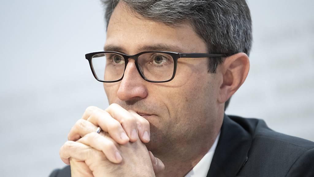 Hält schärfere Massnahmen im Kanpf gegen die Coronavirus-Pandemie für unumgänglich: Lukas Engelberger, Präsident der kantonalen Gesundheitsdirektoren. (Archivbild)