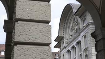Darf mit einem Rekordergebnis rechnen: Die Schweizerische Nationalbank (SNB) an ihrem Verwaltungssitz in Bern.